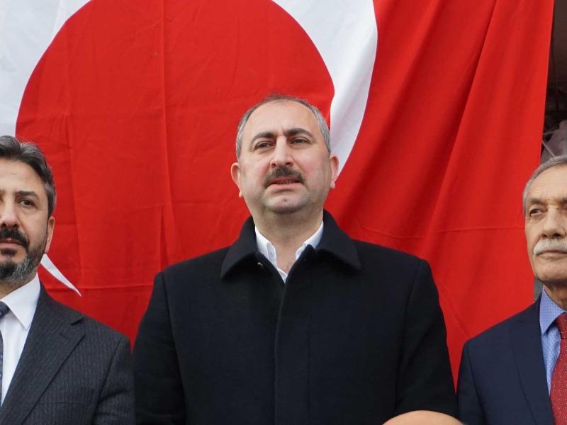 Bakan Gül, Gölbaşı ve Besni'de Seçim İrtibat Bürolarının Açılışını Gerçekleştirdi