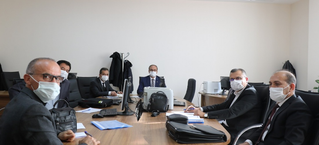 Adıyaman'da 2. Dönem Başı Maarif Müfettişleri Genel Kurul Toplantısı yapıldı