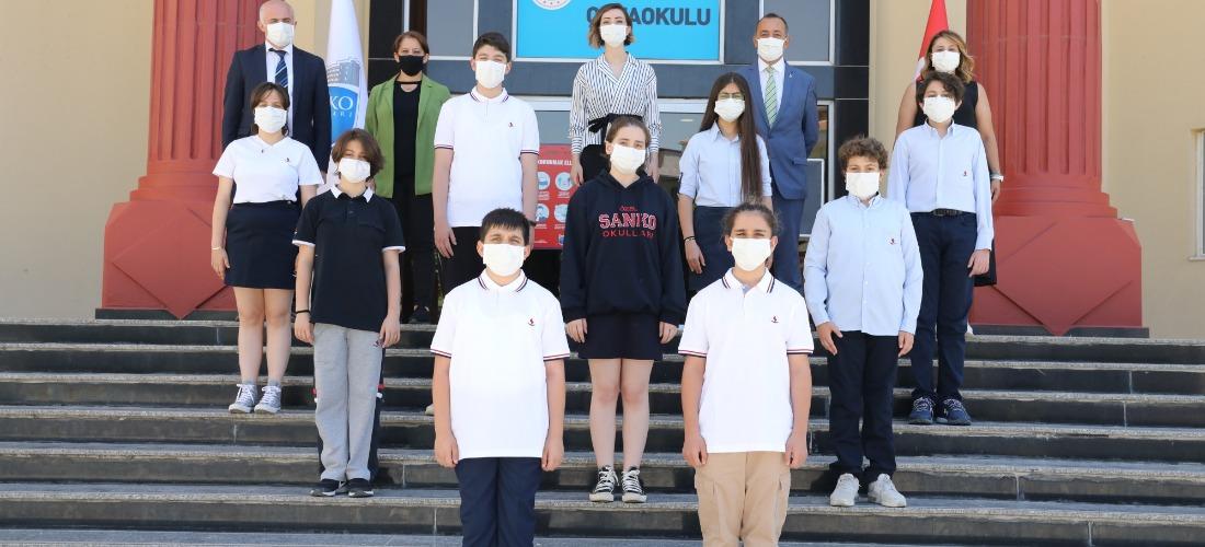 SANKO'lu öğrenciler Türkiye finallerinde