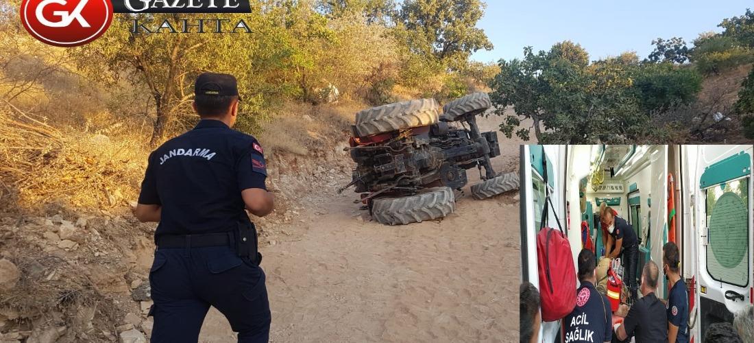 Kendi kullandığı traktörün altında kalan çiftçi hayatını kaybetti